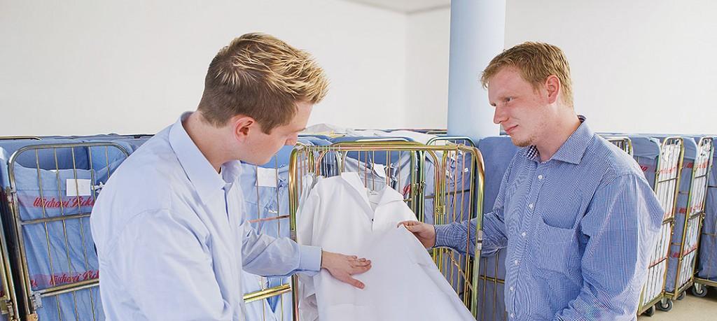 Wäscherei Sicking - Leistungen